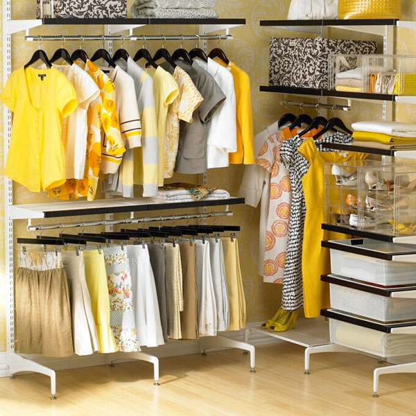 Як організувати гардеробну кімнату