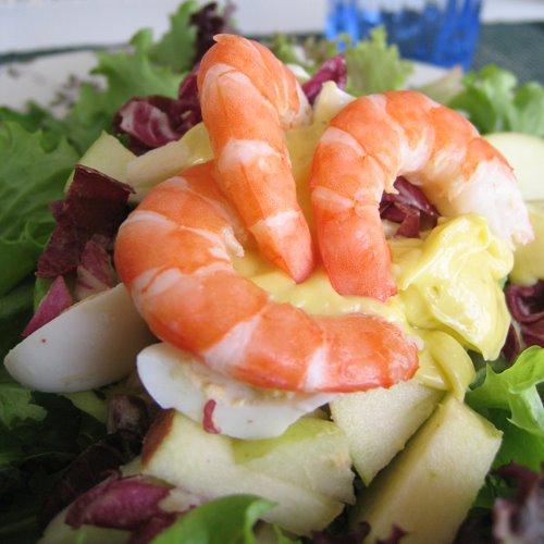 Як приготувати салат з креветками і авокадо