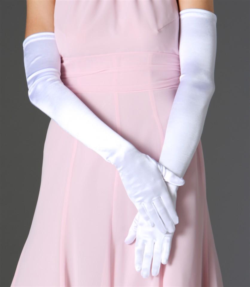 Короткий рукав і довгі рукавички